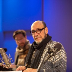 F. Murray Abraham performing Scrooge from A Christmas Carol in The Greene Space