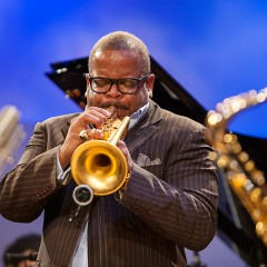 Terrance Blanchard at the Greene Space.